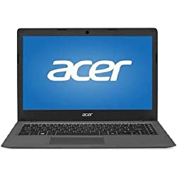 "Acer Aspire One 14"" AO1-431-C8G8 Laptop, Intel Celeron N3050 1.60 GHz Dual-Core Processor, 2GB RAM,32 GB Flash Memory,Windows 10 Home Operating System (Certified Refurbished)"