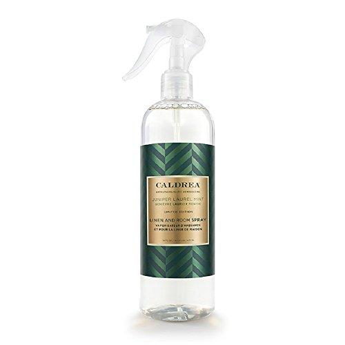 Caldrea Linen & Room Spray, Juniper Laurel Mint, 16 Ounce ()