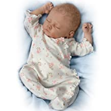 Sophia Lifelike Baby Doll Coos And Has A Heartbeat by The Bradford Exchange