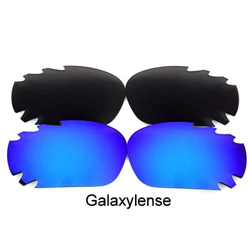 0d697c852c Galaxy Replacement Lenses For Oakley Jawbone Black Blue Color Polarized 2  Pairs 100% UVAB good