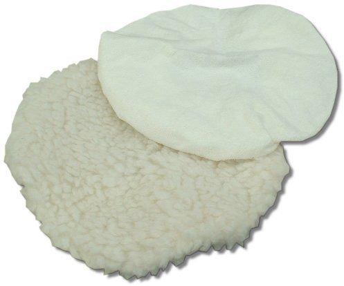 Toolzone 2Pc Polishing Bonnets (For 2 Hand Polishers)