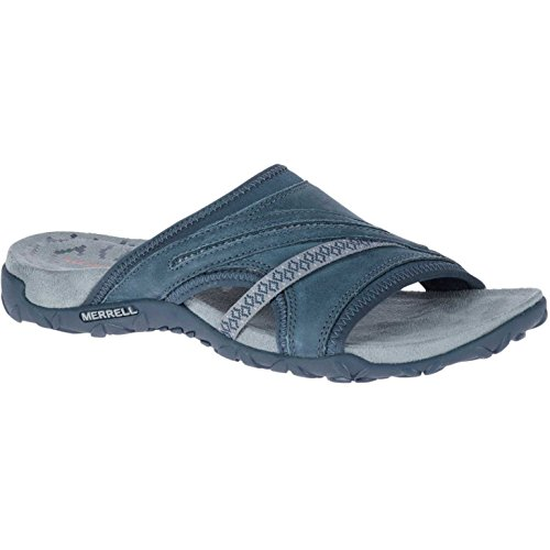 2540ee37d113 Galleon - Merrell Terran Slide II Womens Sandals 5 B(M) US Women Slate