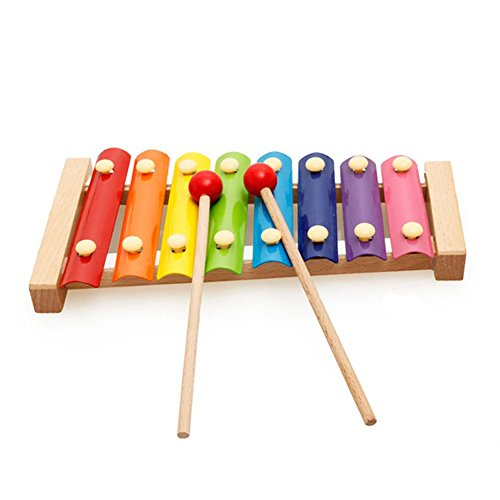 Musical Toys For Toddlers : Motrent wooden notes xylophone first musical