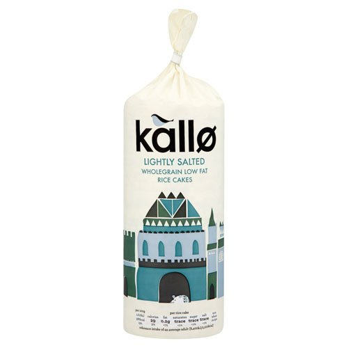 Kallo Low Fat Rice Cakes (130g) - Pack of 6