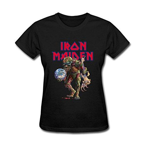 Kittyer Women's Motley Crue Design Cotton T Shirt L