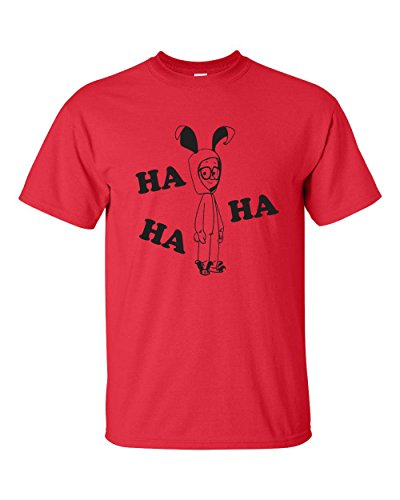 [Ha Ha Bunny Costume A Christmas Story Men's T-Shirt - 3XL Red (ATA563)] (Ralphie Easter Bunny Costume)