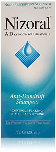 (Nizoral A-D Anti-Dandruff Shampoo with Ketoconazole 1%, Dry Itchy Scalp Shampoo for Dandruff Control & Relief, 7 fl. oz )