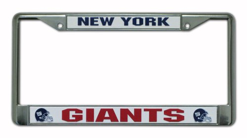nfl-new-york-giants-chrome-plate-frame