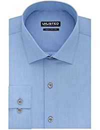 Kenneth Cole Unlisted Men's Slim Fit Solid Spread Collar...