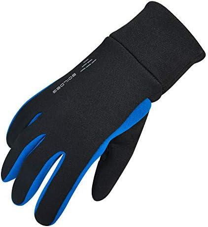 冬と冬のメンズタッチグローブ、パームシリコン、フリースライニング、ドレッシング、サイクリング、オートバイキャンプなどに最適