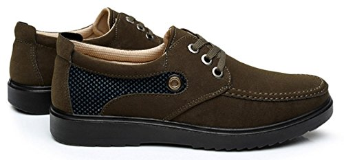 calza zapatos los zapatos los los HYLM hombres calza ocasionales zapatos los calientes green de grandes padre nobles de los zapatos hombres de Old yardas Beijing del respirable los aazqwnOTE