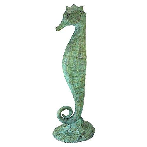 Design Toscano Seahorse Bronze Garden Statue