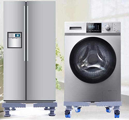 DSHBB Washing Machine Base,Multifunction Trolley Washing Machine Base,Telescopic Bracket Washing Machine Pedestal Fridge Base Rack by DSHBB (Image #2)
