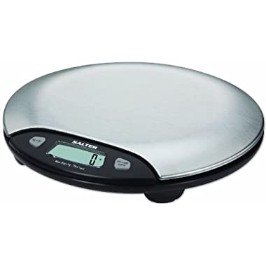 Salter Stainless Steel Electronic Scale (7-Pound)