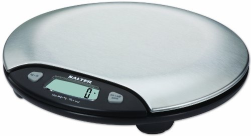 Salter Stainless Steel Electronic 7 Pound