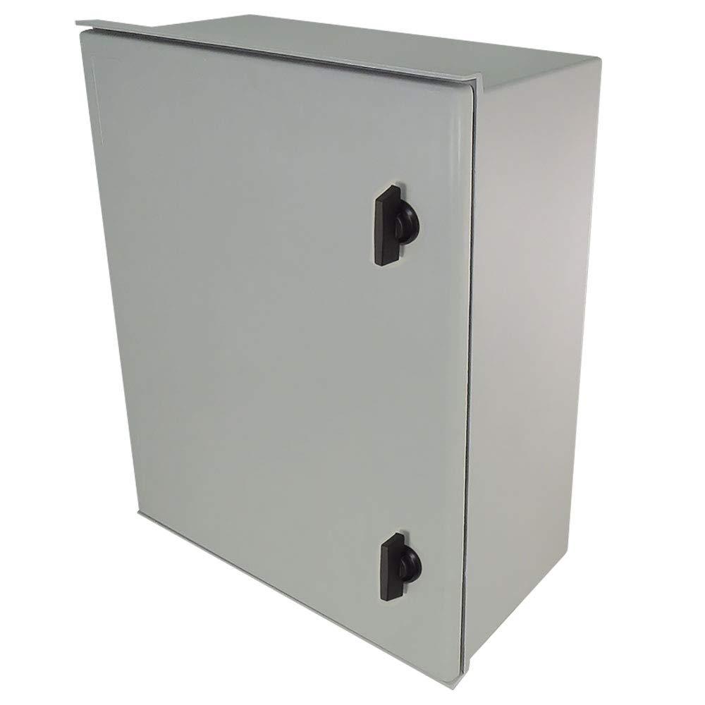 Altelix 20x16x8 Industrial DIN Rail FRP Fiberglass NEMA 3X Box Weatherproof Enclosure with Hinged Lid & Quarter-Turn Latches by Altelix (Image #6)