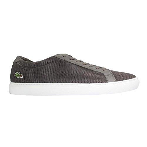 Lacoste de gris à homme gris ville pour lacets Chaussures PPOrwf
