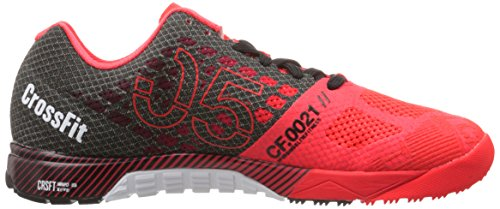 Reebok Women's Crossfit Nano 5.0 Training Shoe, Neon Cherry/Black/chalk, 5.5 M US