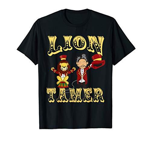 Circus Lion Tamer Shirt - Lion Tamer Costume T-Shirt]()