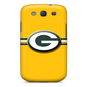 New Style Sunrises Hard Case Cover For Galaxy S3- Green Bay Packers