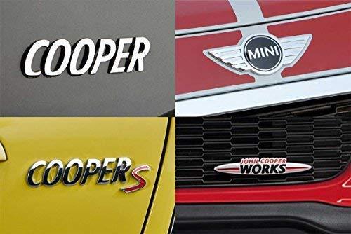 Official Mini Cooper Front Wings Emblem For 2011 2015 Models