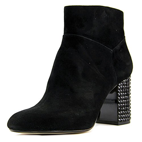 MICHAEL Michael Kors Women's Arabella Ankle Boot Black Kid Suede/Black Crystal 5.5 - For Boots Mk Kids