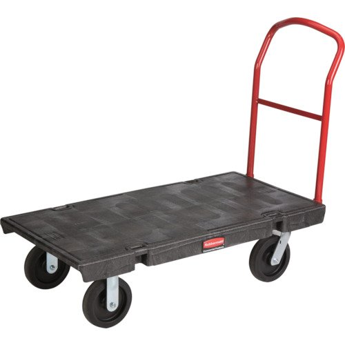- Rubbermaid Commercial Heavy-Duty Platform Truck Cart, 1000 Pound Capacity, 24 x 48 Platform, Black (443600BK)