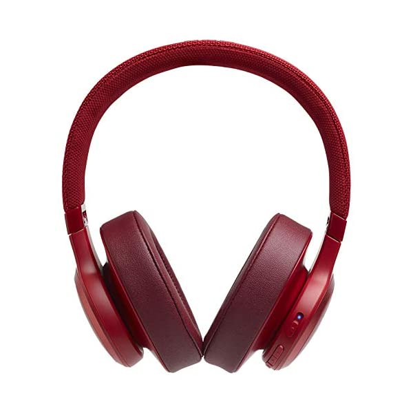 JBL Live 500BT by Harman, 30 Hrs Playtime, Quick Charge, Wireless Over Ear Headphones with Mic, Dual Pairing, AUX… 2021 July JBL Signature Sound with Enhanced Bass. Tap on EarCup to Activate Alexa & other Voice Assistant Detachable Cable with Remote and Microphone for wired listening when you are out of charge