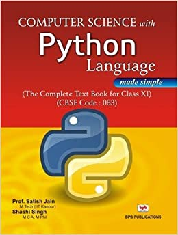 buy computer science with python language made simple class xi book