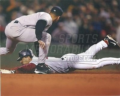 (Dave Roberts Boston Red Sox the stolen base Yankees 8x10 11x14 16x20 photo 876 - Size)
