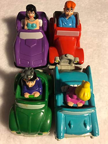 Burger King 1991 Archie Cars 4