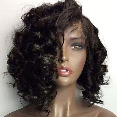 Wicostar JS peluca Lace Front sintético peluca de pelo pws429 Natural ondulado barato