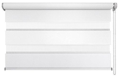 Interessant Amazon.de: mydeco® 140x160 cm [BxH] in weiß - Doppelrollo ohne  UA48