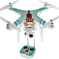 Skin For DJI Phantom 3 Professional – Namaste | MightySkins Protective, Durable, and Unique Vinyl Decal wrap cover | Easy To Apply, Remove, and Change Styles | Made in the USA