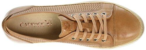Derby Camel 321 Caprice Mujer Nappa 23500 Cordones Marrón Zapatos de para qSIgFS
