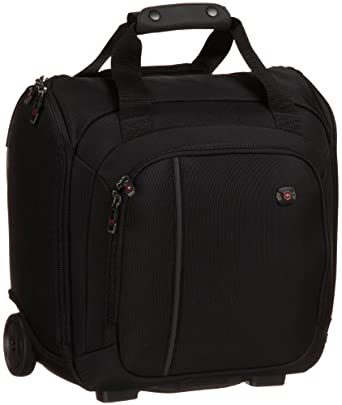 Amazon.com | Victorinox Luggage Werks Traveler 4.0 Wt Wheeled Tote Bag, Black, One Size | Travel ...