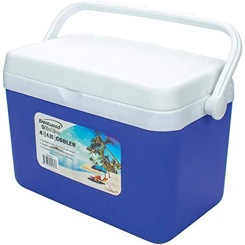 Brentwood CB-400LS 4L/4.2 Quart Kool Zone Cooler Box with Handle ()
