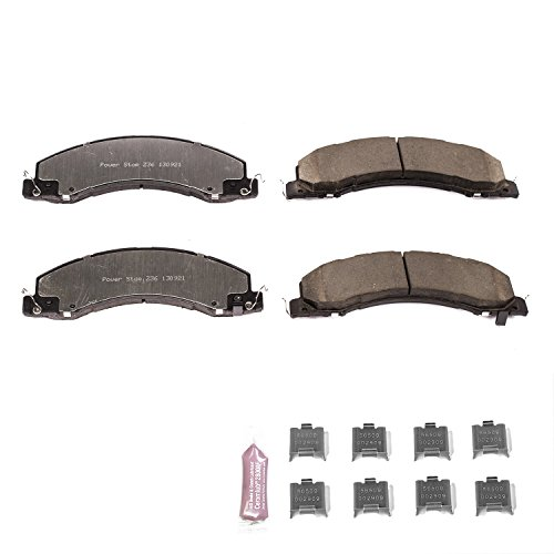 Power Stop Z36-1335, Z36 Truck & Tow Carbon-Fiber Ceramic Front Brake Pads