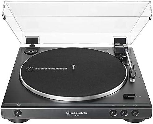 Audio-Technica AT-LP60X-BK tocadiscos estéreo totalmente ...