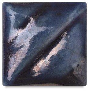 Amaco Raku Glaze - Pint - R-13 Smokey Blue (Raku Glaze)