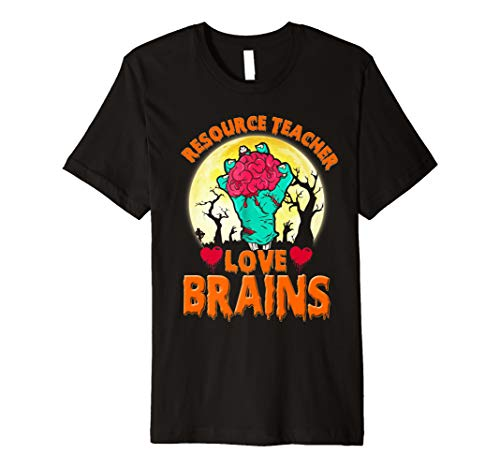 Halloween Teachers Resources (Resource Teacher Love Brains Halloween School Gift Premium)