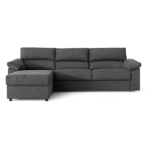 SHIITO Sofa Cama 3 pz. 140 + chaiselongue a izquierdas ...