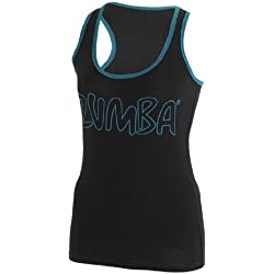 Zumba Life of the Party Racerback (BLACK, S)