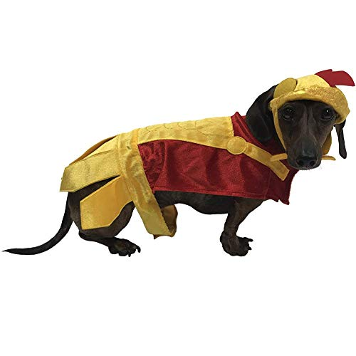 Roman Soldier Costume for Small Dogs (Medium)]()