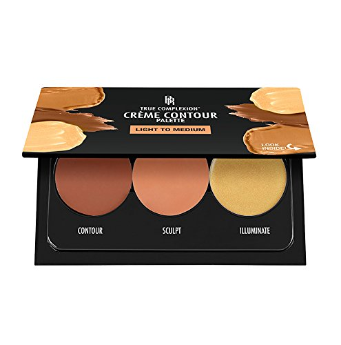 Black Radiance True Complexion Creme Contour Palette, Light to Medium, 7.5 Gram