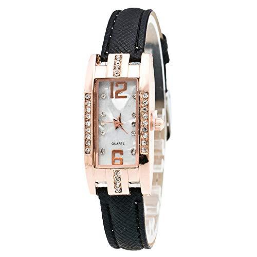 - NXDA Fashion Women's Pointer Quartz Wrist Watch (Black)