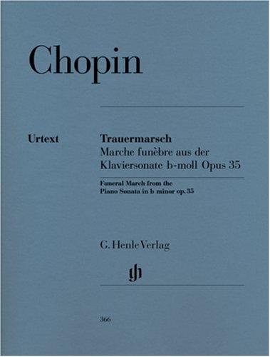 Trauermarsch B-Moll Op 35 (Sonate 2). Klavier