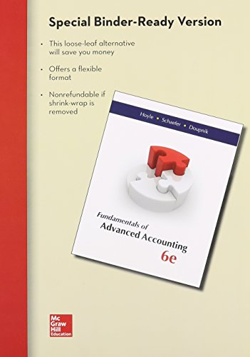 advanced accounting looseleaf - 3