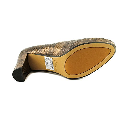 5 forme Uk Bronze Us Clarks Pompes Womens Sienna Fermé 5 Kendra D'orteil Cuir 7 Taille Plate 9 7wqBw04