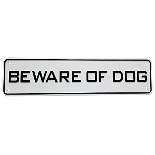 Land & Sea Beware of Dog Sign